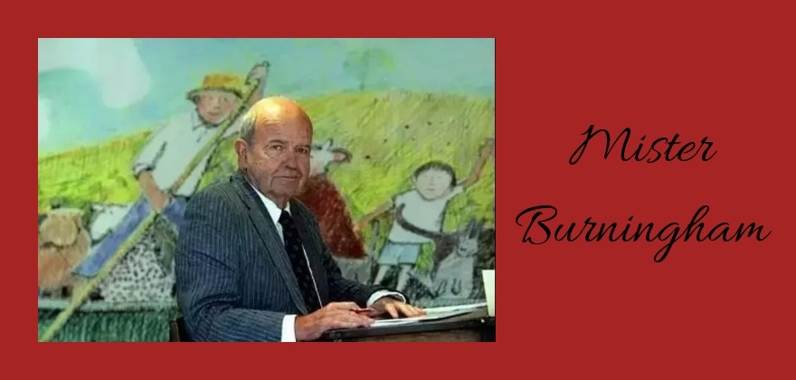 deces John Burningham